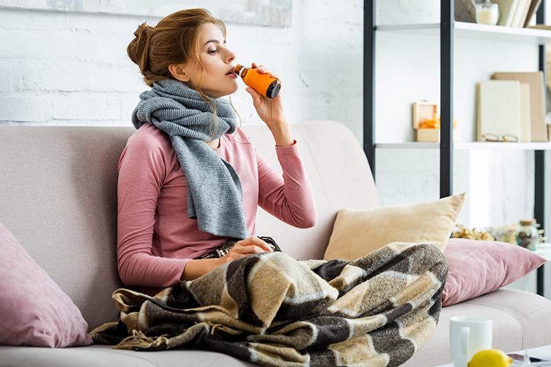 Trata la tos sin subir tus niveles de azúcar